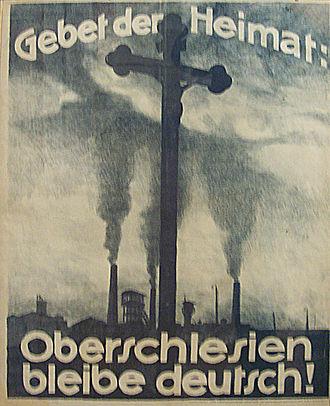 Poster - German propaganda poster, 1921