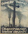 German propaganda poster, Upper Silesia Plebiscite 1.jpg