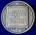 Germany, Death of Friedrich Ebert Silver Medal by Hummel 1925, reverse.jpg
