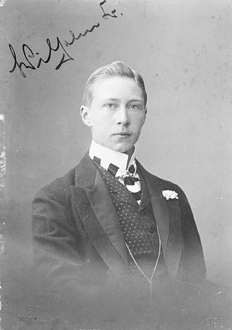 Wilhelm, German Crown Prince - Crown Prince Wilhelm, aged 19, wearing civilian clothing