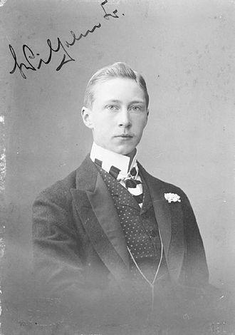 Wilhelm, German Crown Prince - Crown Prince Wilhelm, aged 19, wearing civilian clothing