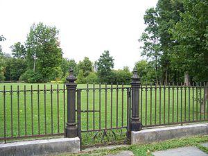 Gerrit Smith Estate - Image: Gerrit Smith Estate Gate