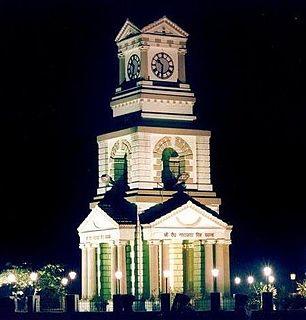 Bhagalpur City in Bihar, India