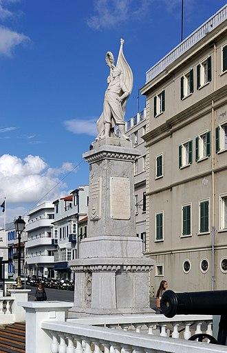 Gibraltar War Memorial - Image: Gibraltar BW 2015 10 26 16 22 22