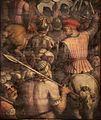 Giorgio vasari e aiuti, presa di cascina, 1563-65, 03.jpg