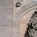 Girih in stone at Kayseri Hunat Hatun.jpg