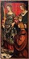 Girolamo giovenone, ss. dorotea e lucia con un devoto, 1508.JPG
