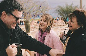 Hana Laszlo - Laszlo with Natalie Portman and Amos Gitai