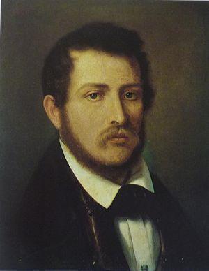 Giulio Carmignani - Self-portrait (c.1870)