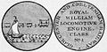 Gloucester and Cheltenham Railway medal - Railroad and Engineering Journal v66 n12 p583.jpg