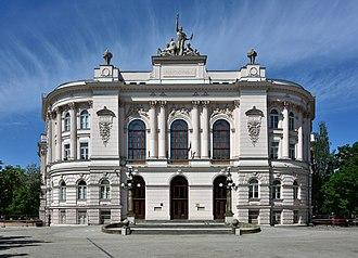 Warsaw University of Technology - Main building of Warsaw University of Technology