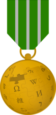 Gold medal wikiproject.png