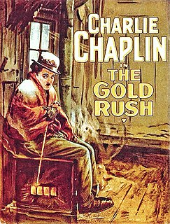 <i>The Gold Rush</i> 1925 film directed by Charlie Chaplin
