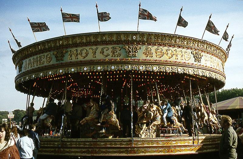 File:Goose Fair Roundabout.jpg