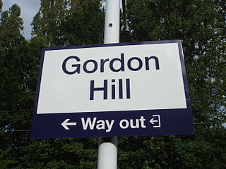 Gordon Hill, London human settlement in United Kingdom