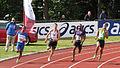 Gouden Spike 2011 - 200m met o.m. Patrick van Luijk.jpg