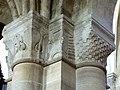 Gournay-en-Bray (76), collégiale St-Hildevert, bas-côté sud, chapiteaux du 3e pilier libre, côté sud-est.jpg
