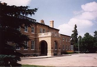 Government House (Saskatchewan) - Government House main entrance