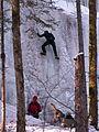 Grünenbach - Eistobel - Eisklettern 01.JPG