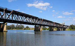 Grafton Bridge over de Clarence