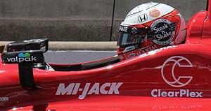 Steak 'n Shake - Graham Rahal's 2015 Indianapolis 500 IndyCar was sponsored by Steak 'n Shake