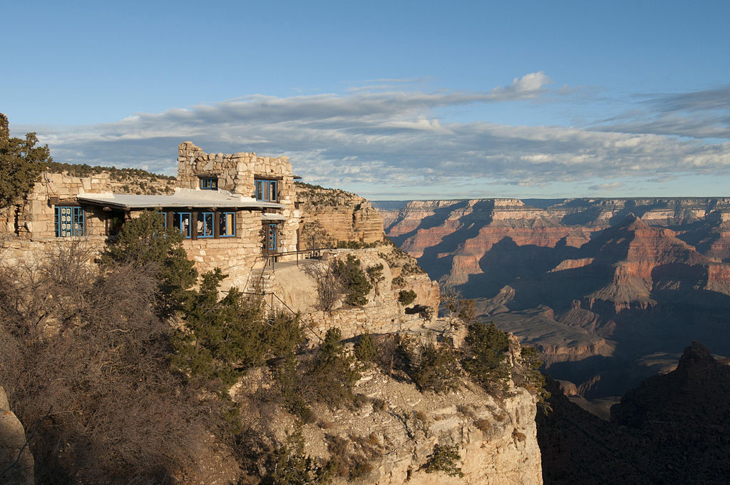 Grand Canyon National Park, Lookout Studio - Early Morning 4158 - Flickr - Grand Canyon NPS