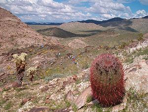 Granite Wash Mountains - Image: Granite Wash Mountains 2005