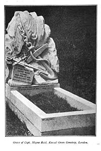 Grave of Capt. Mayne Reid, Kensal Green Cemetery, London.jpg