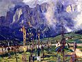 Graveyard in the Tyrol 1914-1915 JS Sargent.jpg