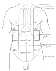 Image illustrative de l'article Douleur abdominale