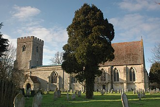 Great Haseley - Image: Great Haseley St Peter south