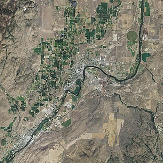 Greater Omak - Aerial view of Greater Omak