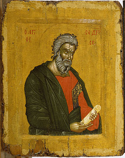 Greek - Saint Andrew - Walters 37559