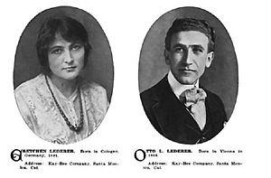 Otto Lederer - Gretchen and Otto Lederer Who's Who in the Film World, 1914