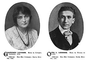 Otto Lederer - Gretchen and Otto Lederer Who's Who in the Film World, 1914