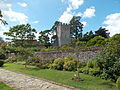 Greys Court 05 - garden with fortified tower remains.jpg