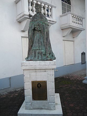 Rufino Santos - Monument of Rufino Cardinal Santos (Guagua, Pampanga).