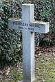 GuentherZ 2013-01-12 0408 Wien11 Zentralfriedhof Gruppe88 Soldatenfriedhof polnisch WK2 Grabkreuz Maruszak Michal.JPG