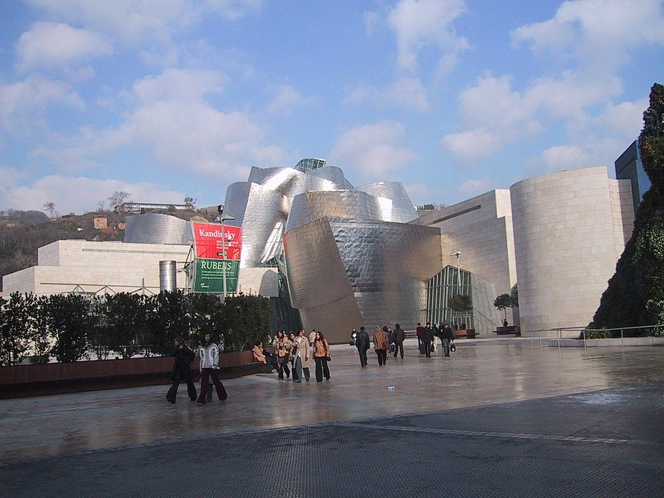 GuggenheimMuseumBilbaoEntrance2003