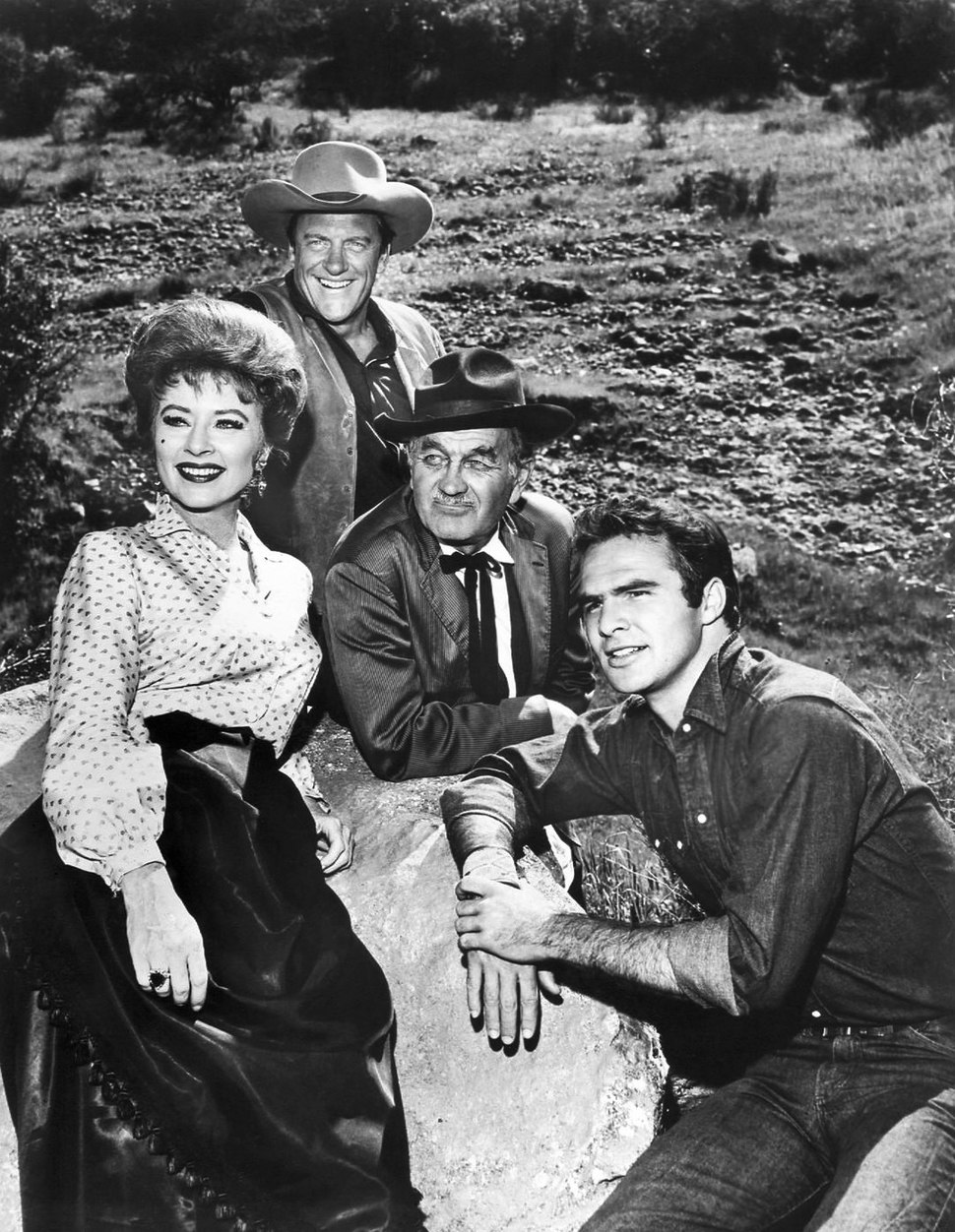 Gunsmoke cast 1963