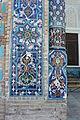 Gur-e Amir - Exterior views 990 detail of porch.JPG