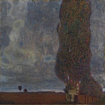 Gustav Klimt - Approaching Thunderstorm (The Large Poplar II) - Google Art Project.jpg