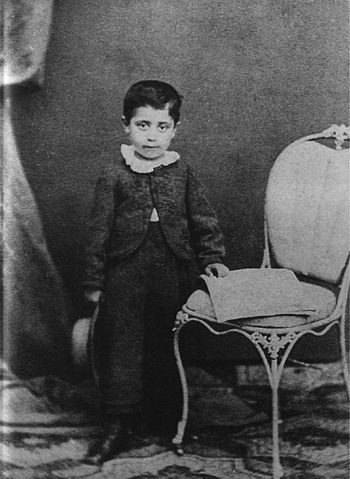 Густав Малер, ок. 1865 года