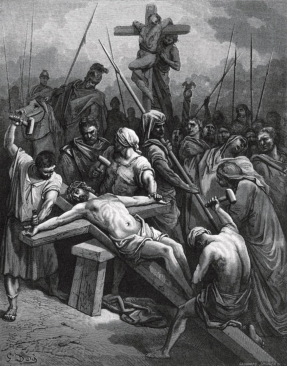 Gustave Doré - Crucifixion of Jesus
