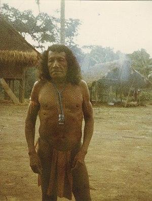 Wayana - Wayana man, 1979