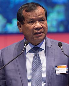 H.E. Thong Khon, Minister of Tourism, Cambodia (33488861223) (cropped).jpg
