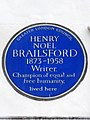 HENRY NOEL BRAILSFORD 1873-1958 Writer Champion of equal and free humanity lived here.jpg