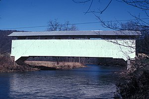 Southampton Township, Bedford County, Pennsylvania - Hewitt Covered Bridge