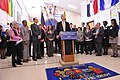 HHS Secretary Sebelius joins U.S. Dept. of Education Secretary Arne Duncan at Rolling Terrace Elementary School in Montgomery County, MD (11).jpg