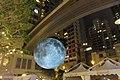 HK 灣仔 Wan Chai 利東街 Lee Tung The Avenue night 月球博物館 big Moon Museum by UK Luke Jerram October 2017 IX1 21.jpg
